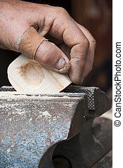 Carpenter Handwork, Dolomites