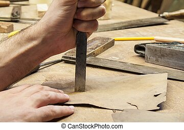 carpenter tools,wood woork table, construction background
