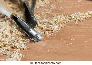 carpenter's, redskapen