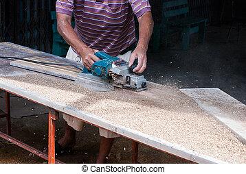 carpentiere, lavoratore