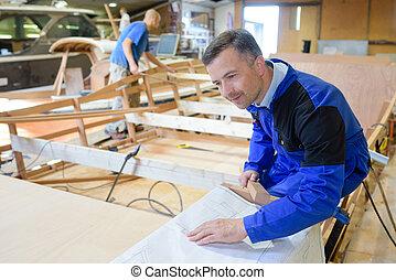 carpentiere, lavoro
