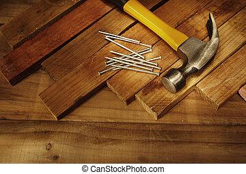 Carpentry still life