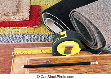 carpet and laminate choice for interior