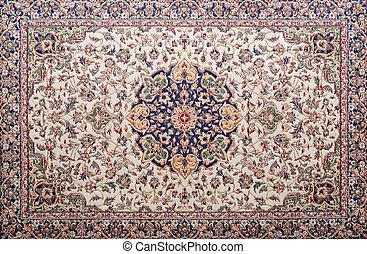carpet background - detail of a carpet texture pattern