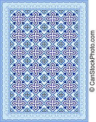 Carpet, Bed Sheet, Rug, Seamless Design Vector Art