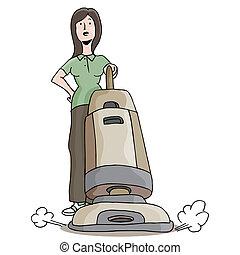 Carpet Cleaner Girl