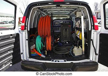 carpet cleaning van 4 - New carpet cleaning van, ready to...
