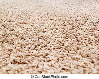 Carpet closeup - Thick luxury carpet close-up
