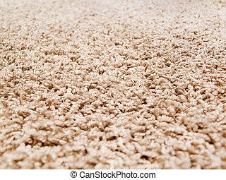 Thick luxury carpet close-up