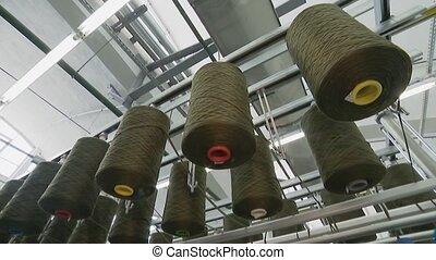 carpet., nakarmić, fabrics., wielki, fabryka, produkcja,...