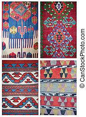 carpet pattern collage