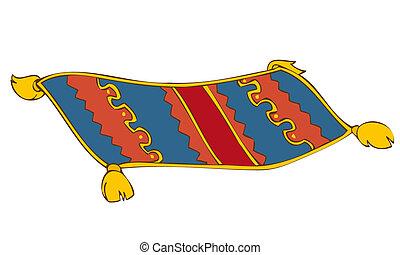 carpet., persa