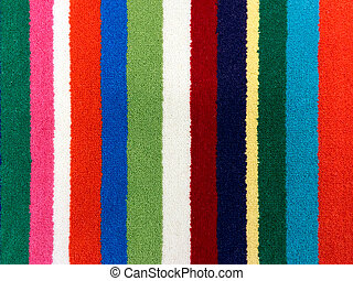 Carpet - Samples of colorful carpet, for backgrounds or...