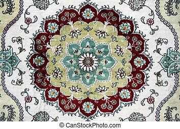 Texture of Old Turkish Carpet