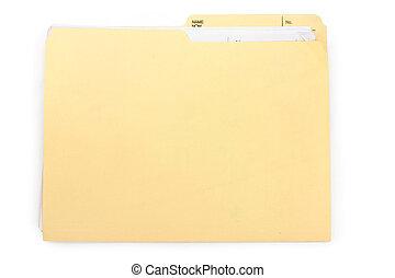 carpeta, archivo