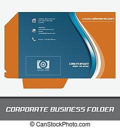 carpeta, negocio corporativo