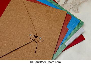 carpetas, colorido