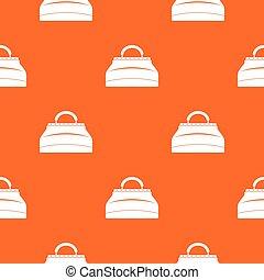 Carpetbag pattern seamless