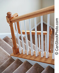 Carpeted Stairs Vertical