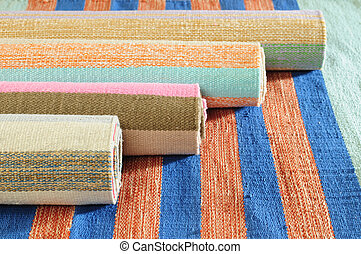 Carpets - Rolled up carpets