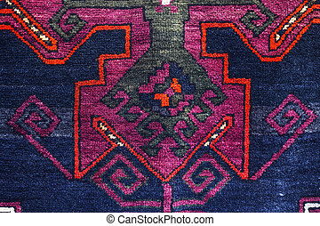 Carpets with typical geometrical patterns are among the most...