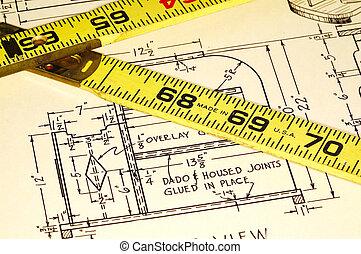 carpintaria, planos