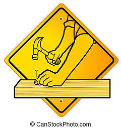 carpinteiro, sinal