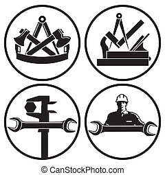 carpintero, carpinteros, cerrajero, chara