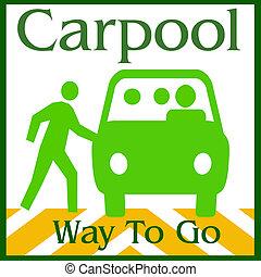 carpool , δρόμος