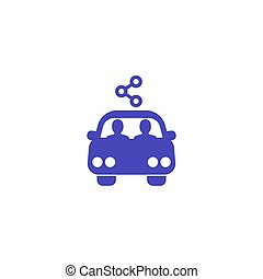 carpool , εικόνα , μερίδιο , αυτοκίνητο