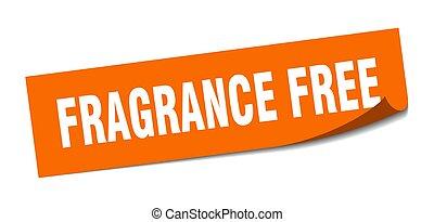 carrée, éplucheur, isolé, signe., gratuite, sticker., parfum...