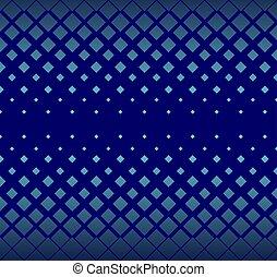 carrée, lumière étoiles, simple, pattern., seamless, arrière-plan., forme, vecteur, géométrique