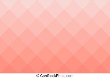 carrée, modèle, nuances, diagonal, fond, rouges