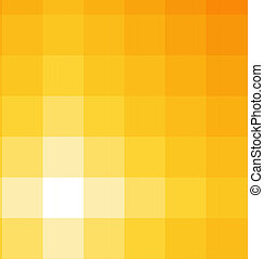 carrée, nuances, fond jaune