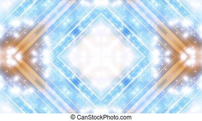 carrée, particule, vj, cg, faire boucle, animé, résumé, toile de fond