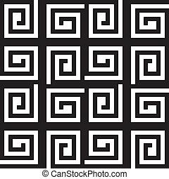 carrée, résumé, bassed, plaid, fond, labirinth, spyral