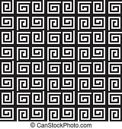 carrée, résumé, seamless, bassed, plaid, fond, labirinth, ...