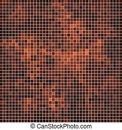 carrée, résumé, vecteur, fond, pixel, mosaïque