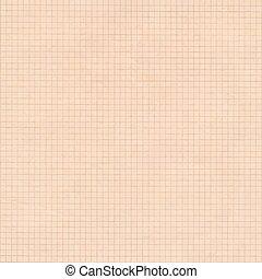 carrée, vieux, graphique, sépia, arrière-plan., papier, grille