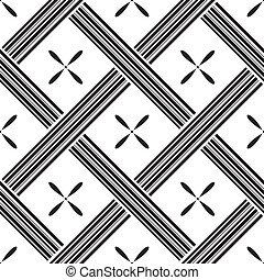 carrés, modèle, vecteur, seamless, illustration