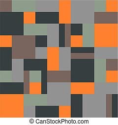 carrés, rectangles, fond