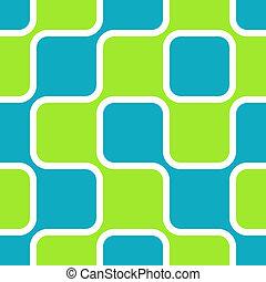 carrés, retro