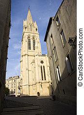 Carr? Sainte Anne church of Montpellier