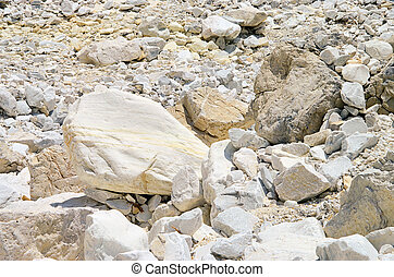Carrara  marble stone pit 17