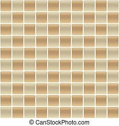 carreau, éclaboussure, dos, checkered