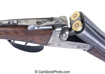 carregado, arma