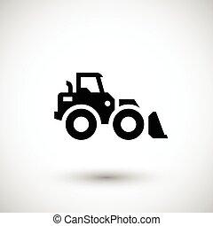 carregador roda, ícone