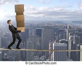carreira, negócio, difícil