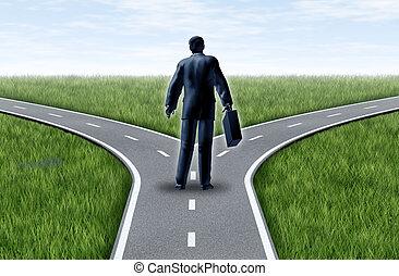 carrera, decisión
