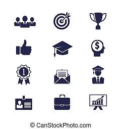 carrera, iconos del negocio